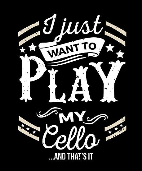 Cello Play Poster