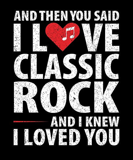 Love Classic Rock Music Poster