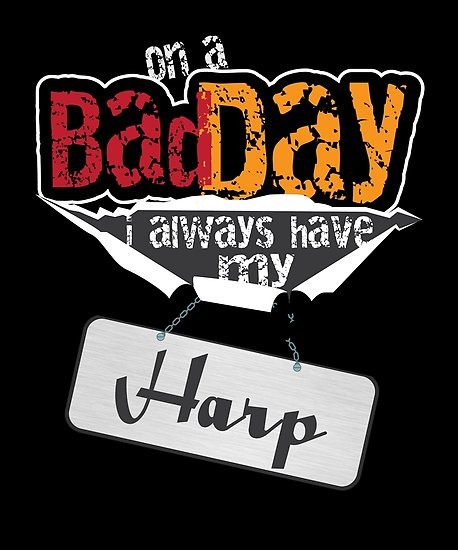 Harp Day Poster