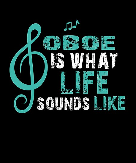 Oboe Life Poster