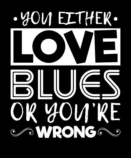 Love Blues Poster