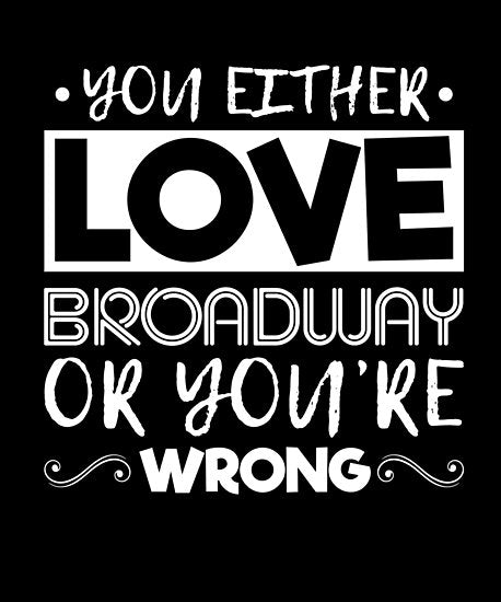 Love Broadway Poster