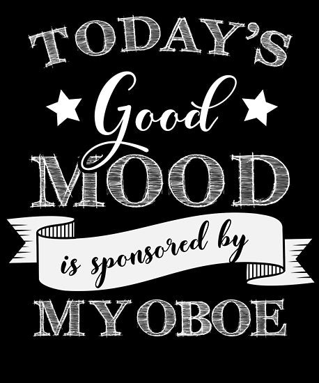 Oboe Mood Poster