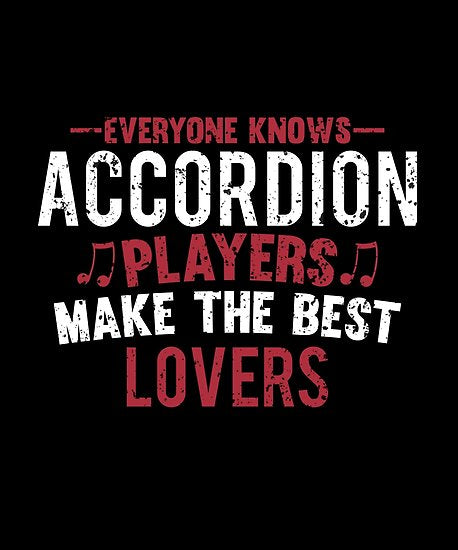 Accordion Players Lovers Poster