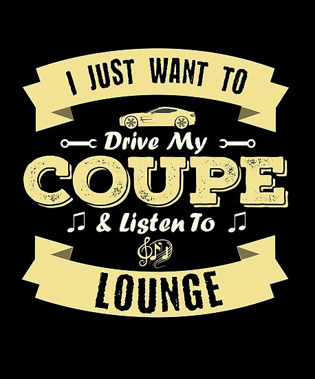 Coupe Lounge Poster