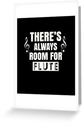 Flute Room Greeting Card