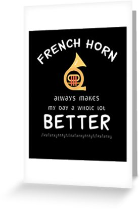 French Horn Better Greeting Card