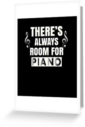 Piano Room Greeting Card