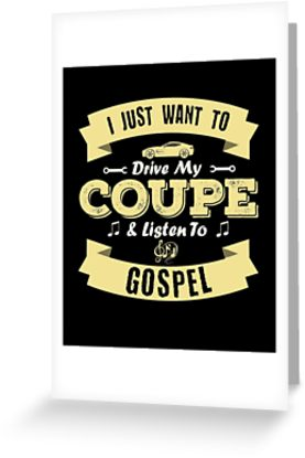 Coupe Gospel Greeting Card