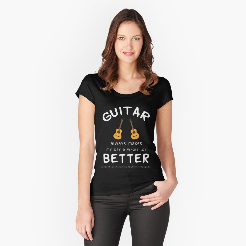 Guitar Better Women's Fitted Scoop T-Shirt