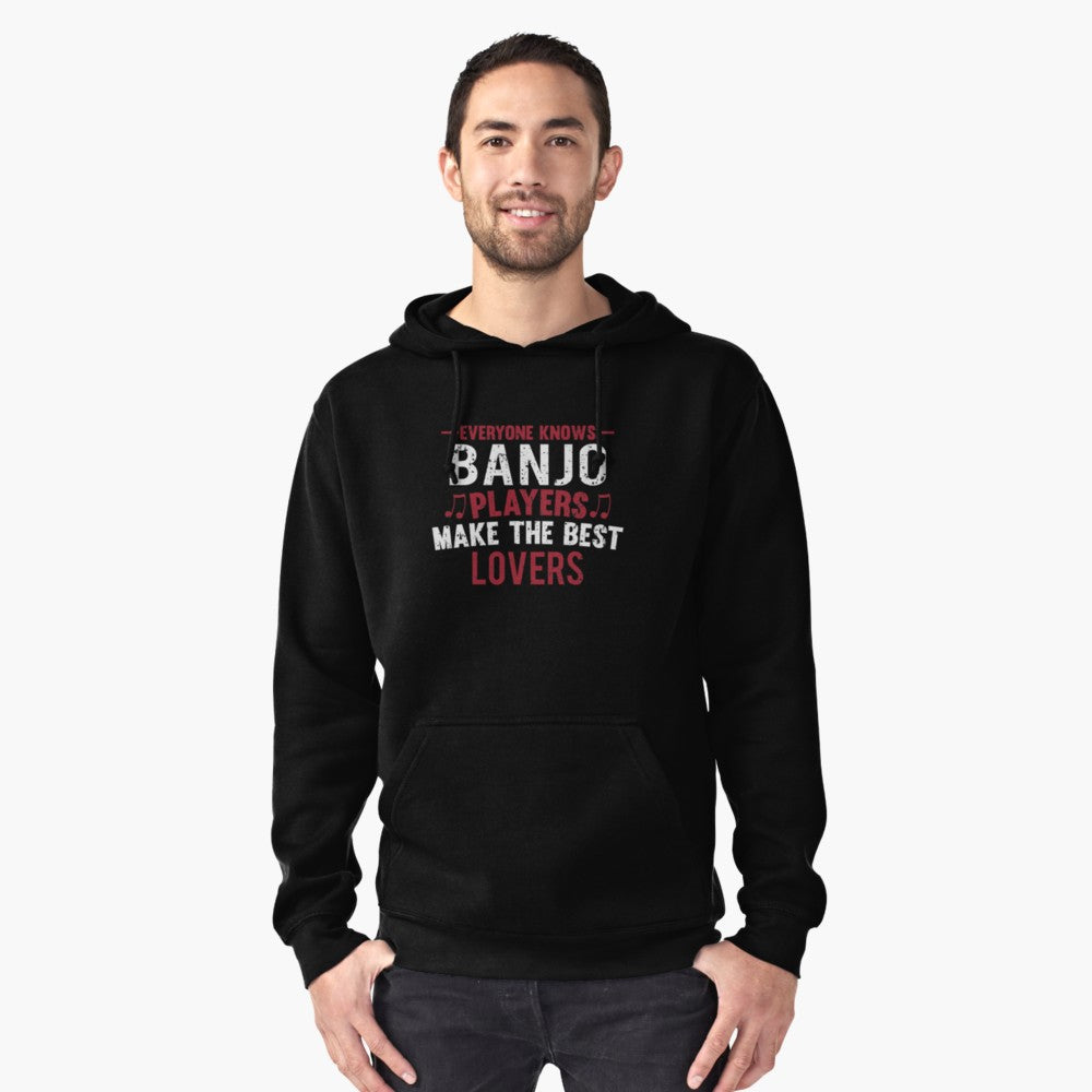Banjo Players Lovers Pullover Hoodie