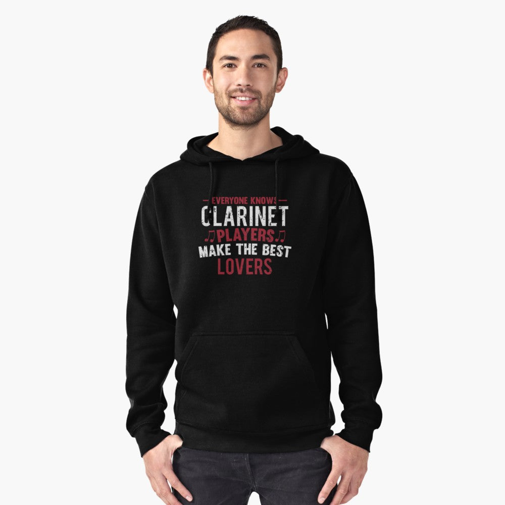 Clarinet Players Lovers Pullover Hoodie