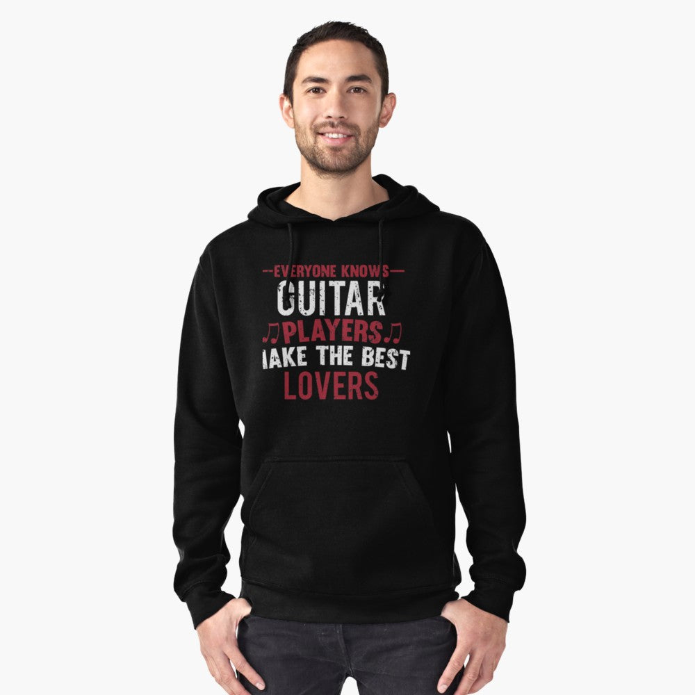 Guitar Players Lovers Pullover Hoodie