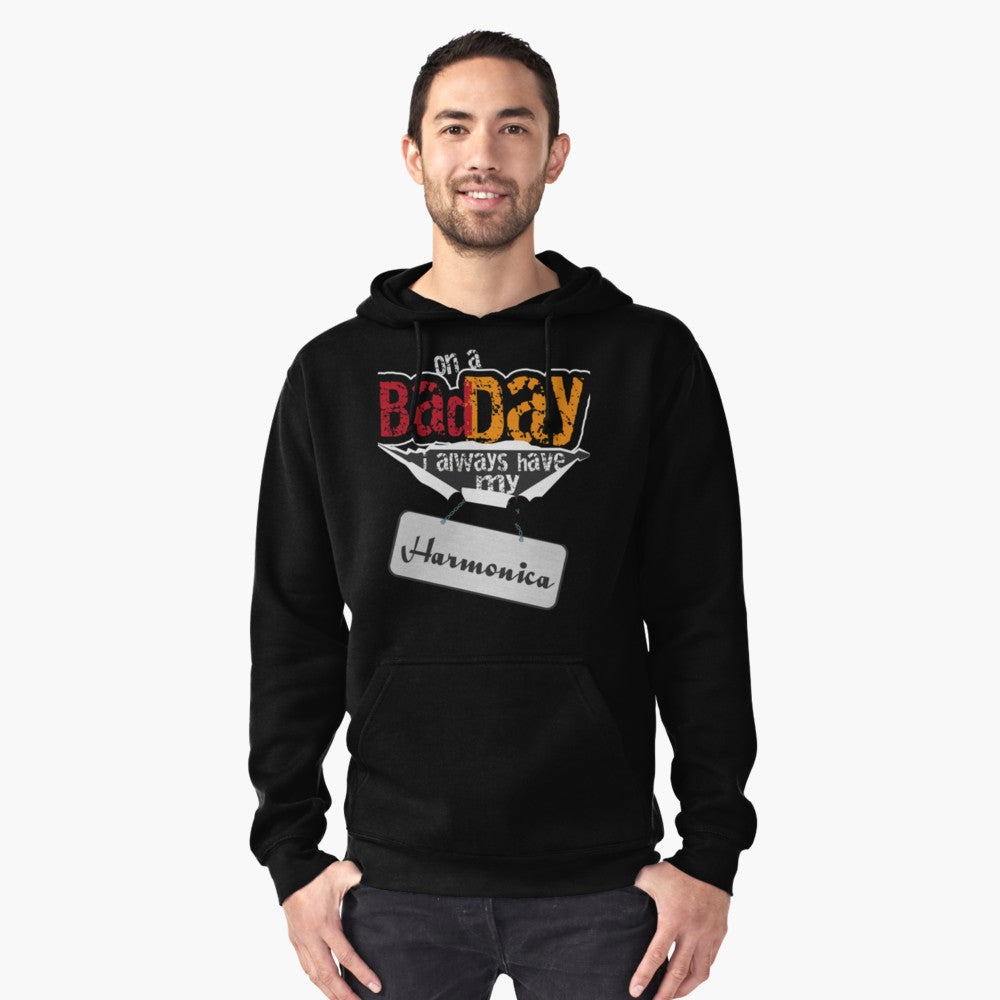 Harmonica Day Pullover Hoodie