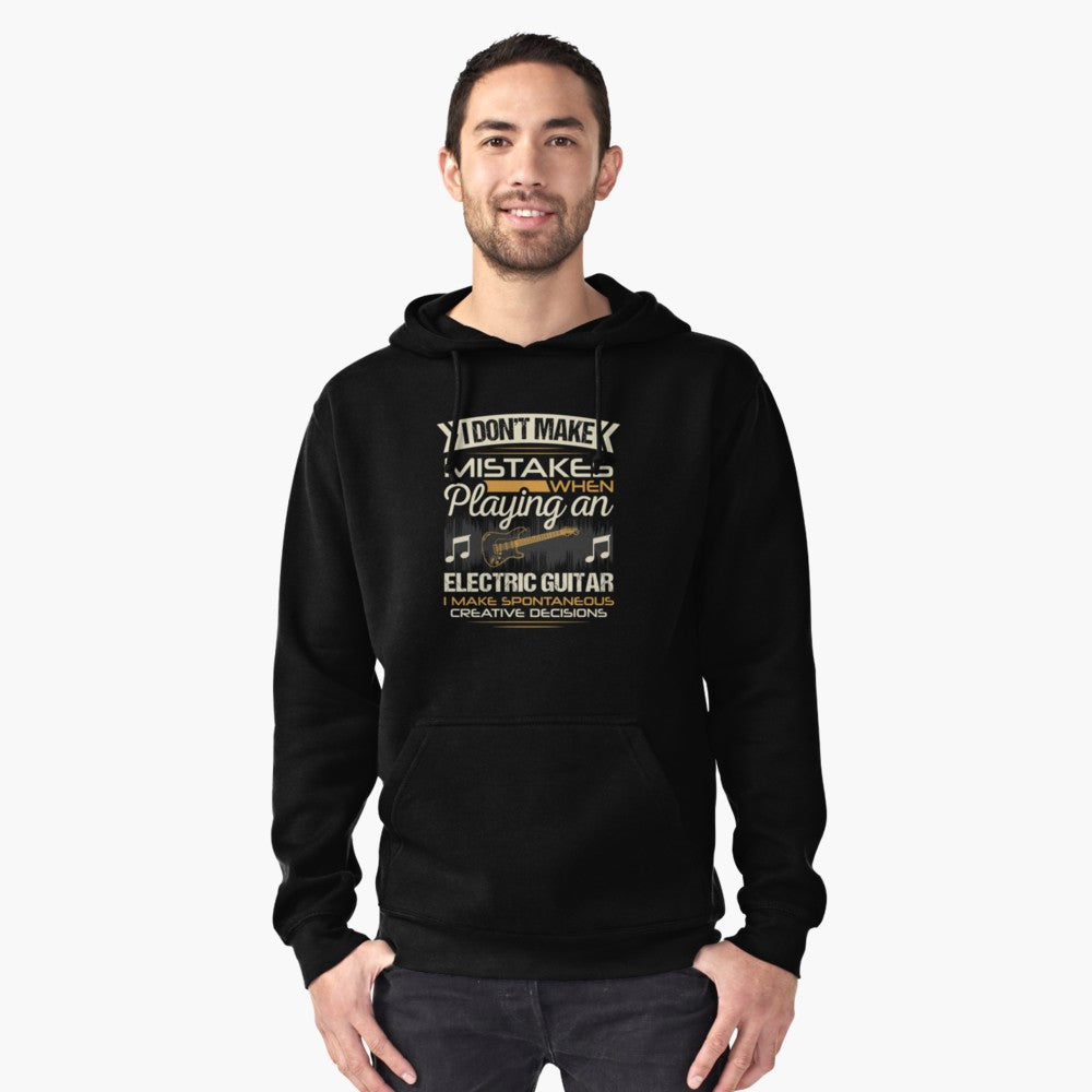 Electric Guitar Mistakes Pullover Hoodie