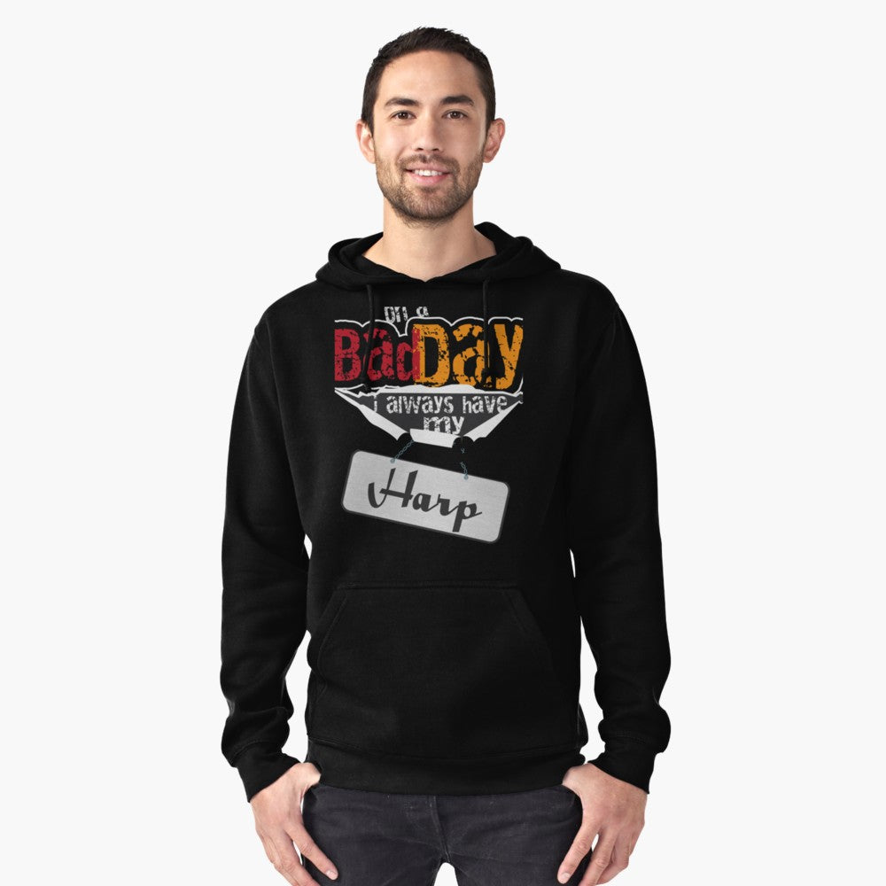 Harp Day Pullover Hoodie
