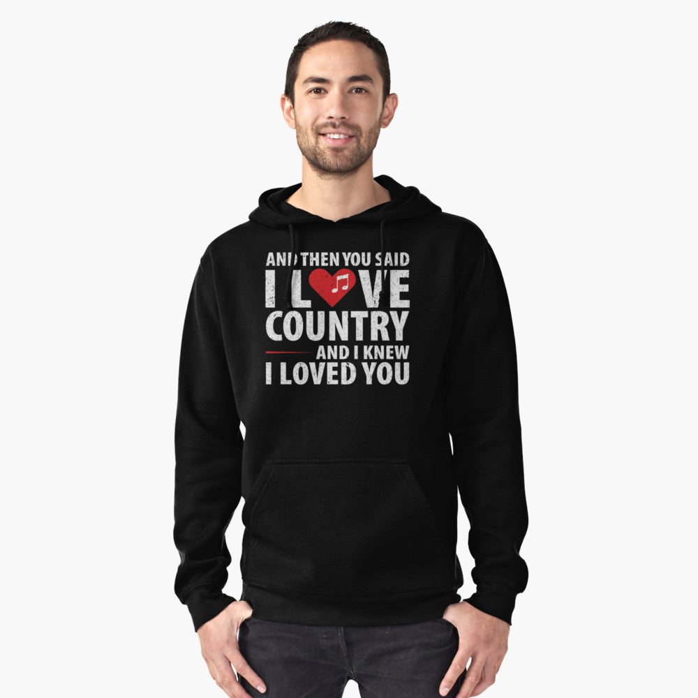 Love Country Music Pullover Hoodie