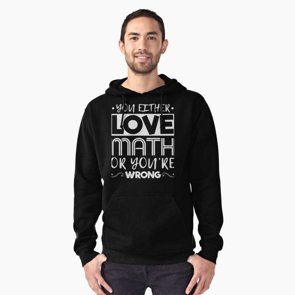 Love Math Pullover Hoodie