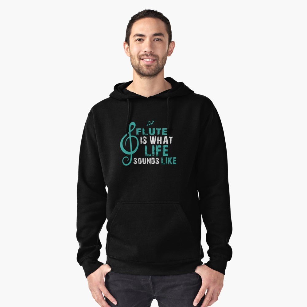 Flute Life Pullover Hoodie