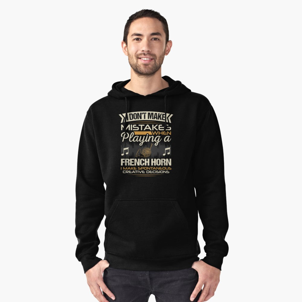 Flute Mistakes Pullover Hoodie
