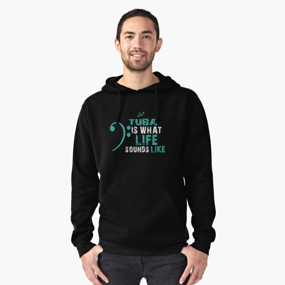 Tuba Life Pullover Hoodie
