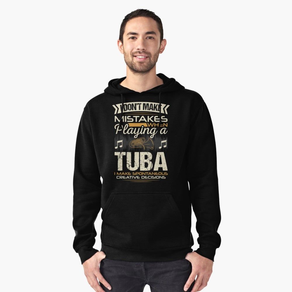 Tuba Mistakes Pullover Hoodie