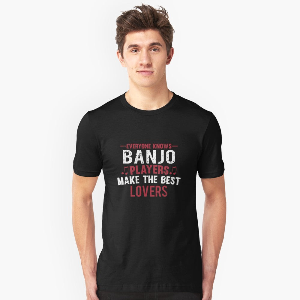Banjo Players Lovers Unisex T-Shirt