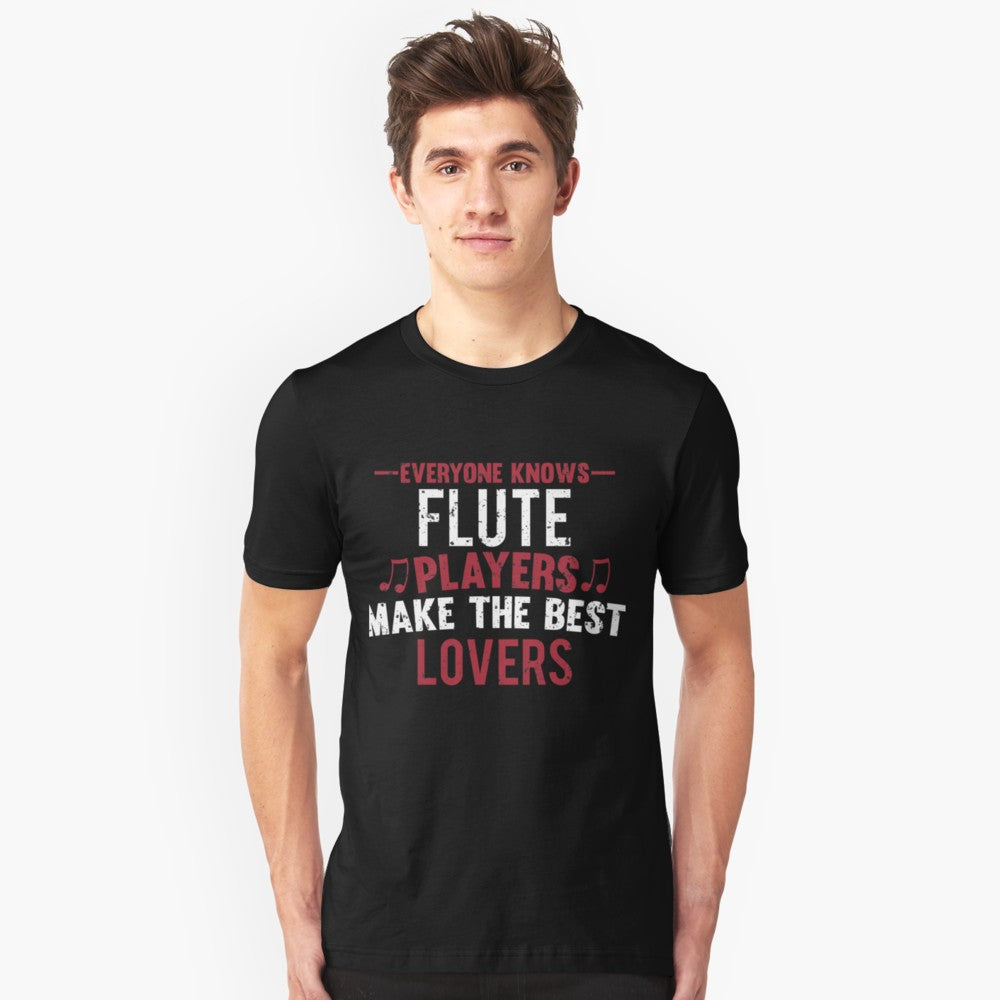 Flute Players Lovers Unisex T-Shirt