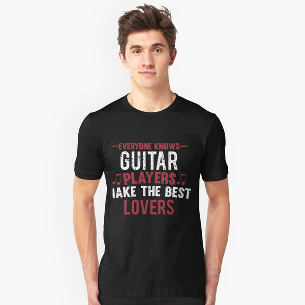 Guitar Players Lovers Unisex T-Shirt