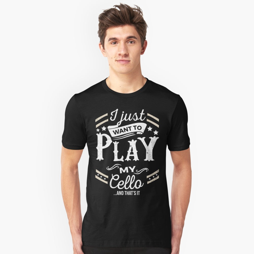 Cello Play Unisex T-Shirt