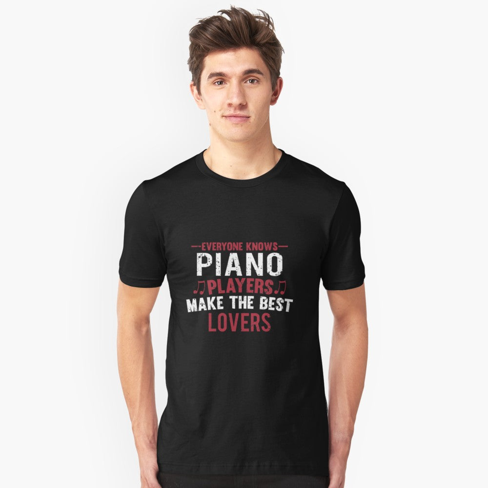 Piano Players Lovers Unisex T-Shirt
