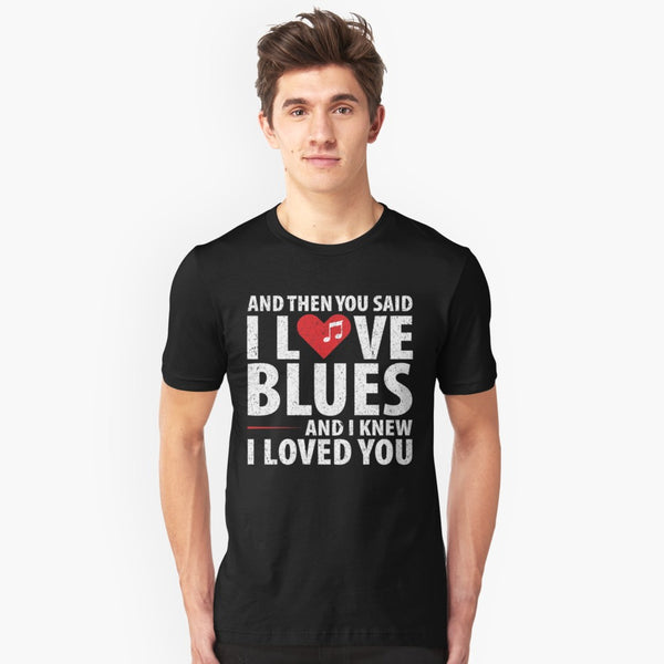 Love Blues Music Unisex T-Shirt