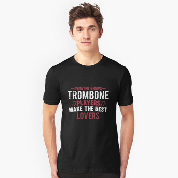 Trombone Players Lovers Unisex T-Shirt