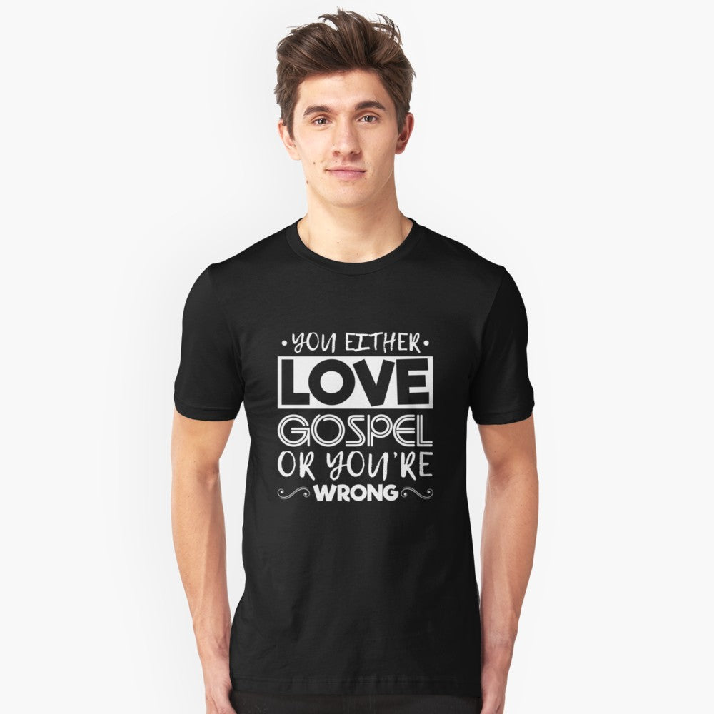 Love Gospel Music Unisex T-Shirt