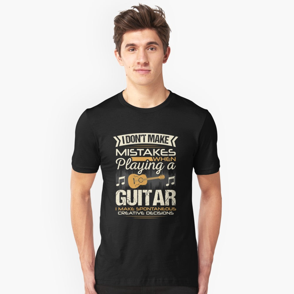 Guitar Mistakes Unisex T-Shirt