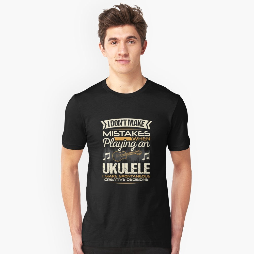 Ukulele Mistakes Unisex T-Shirt