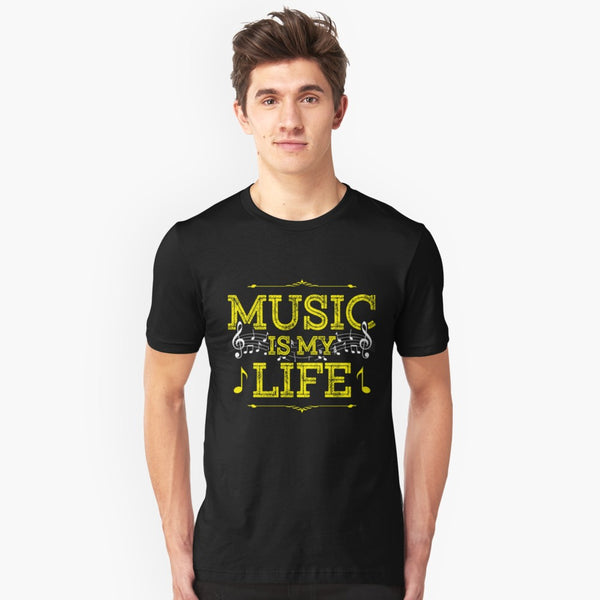 Music Is My Life Unisex T-Shirt