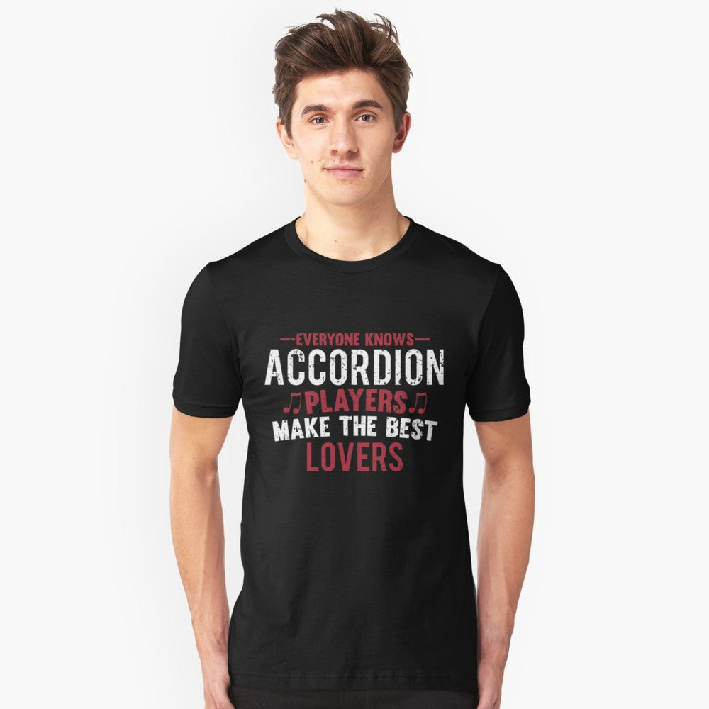 Accordion Players Lovers Unisex T-Shirt