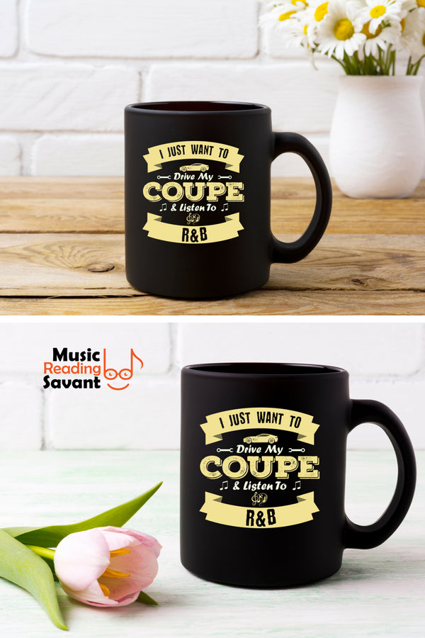 Coupe R&B Coffee Mug Black