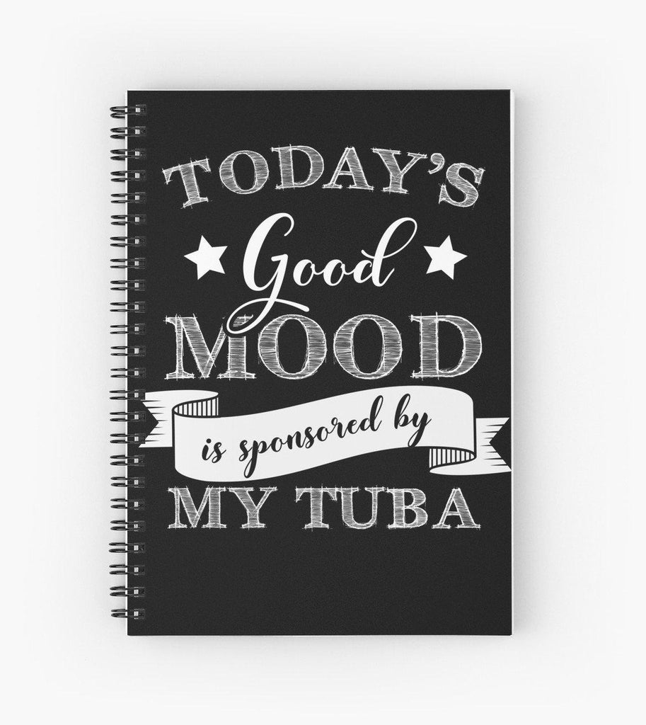 Tuba Mood Spiral Notebook