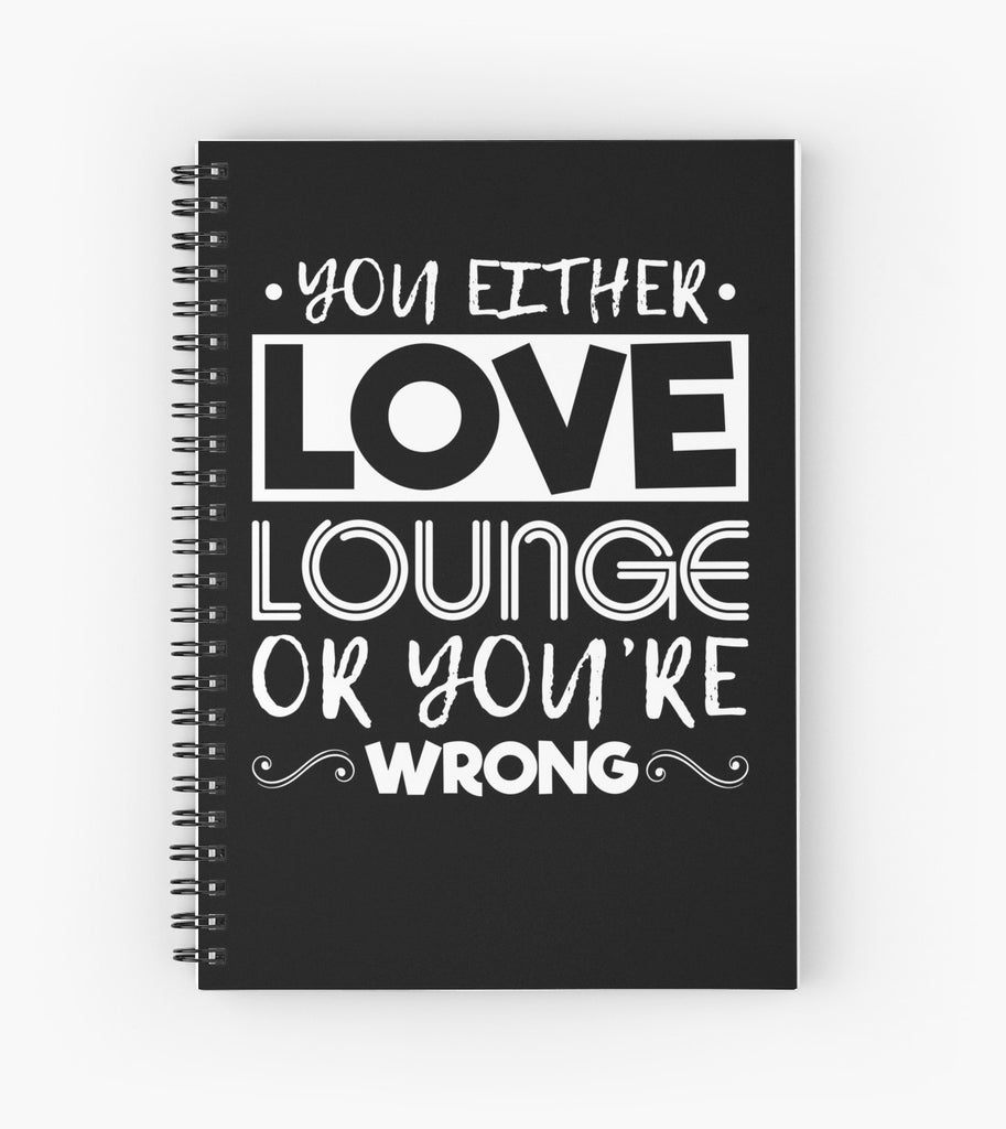 Love Lounge Spiral Notebook