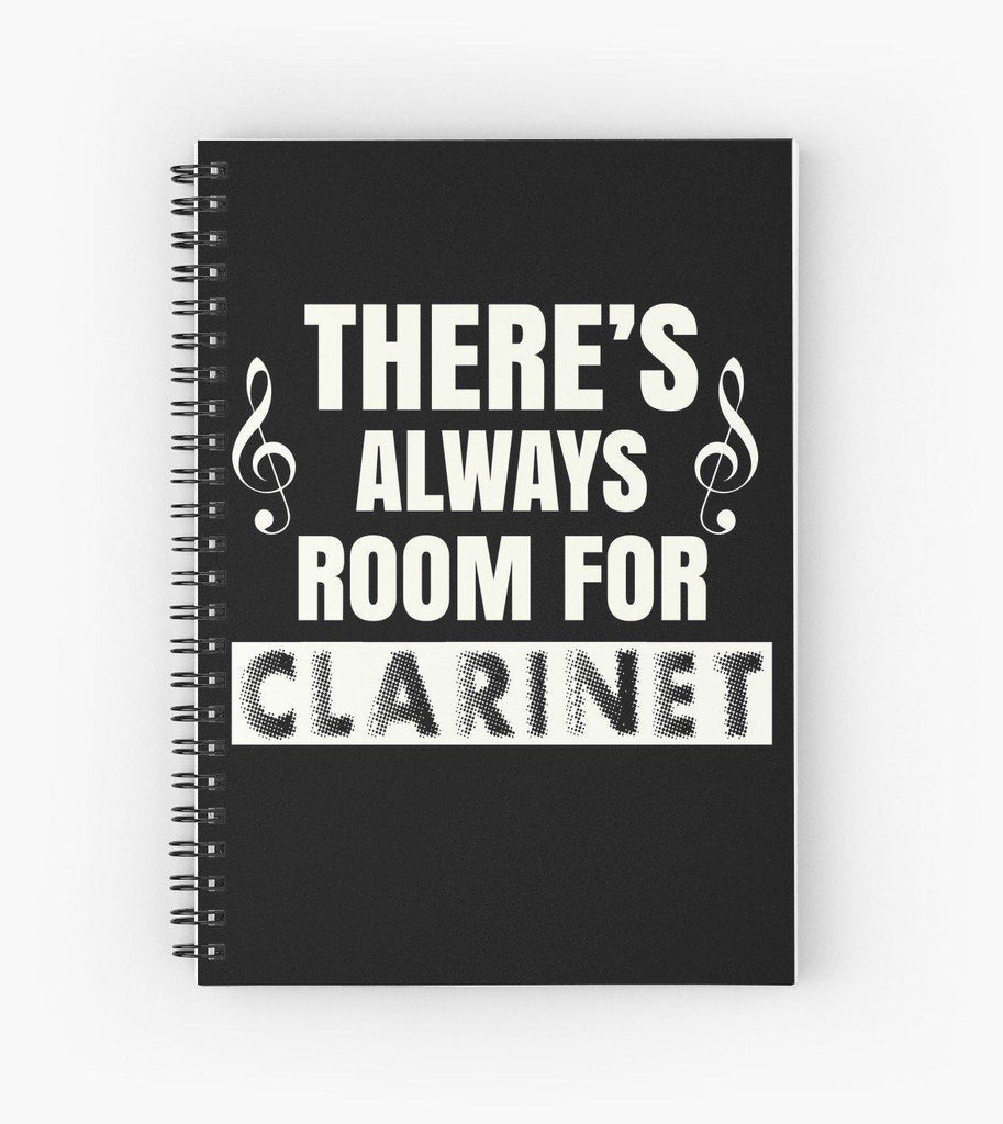 Clarinet Room Spiral Notebook