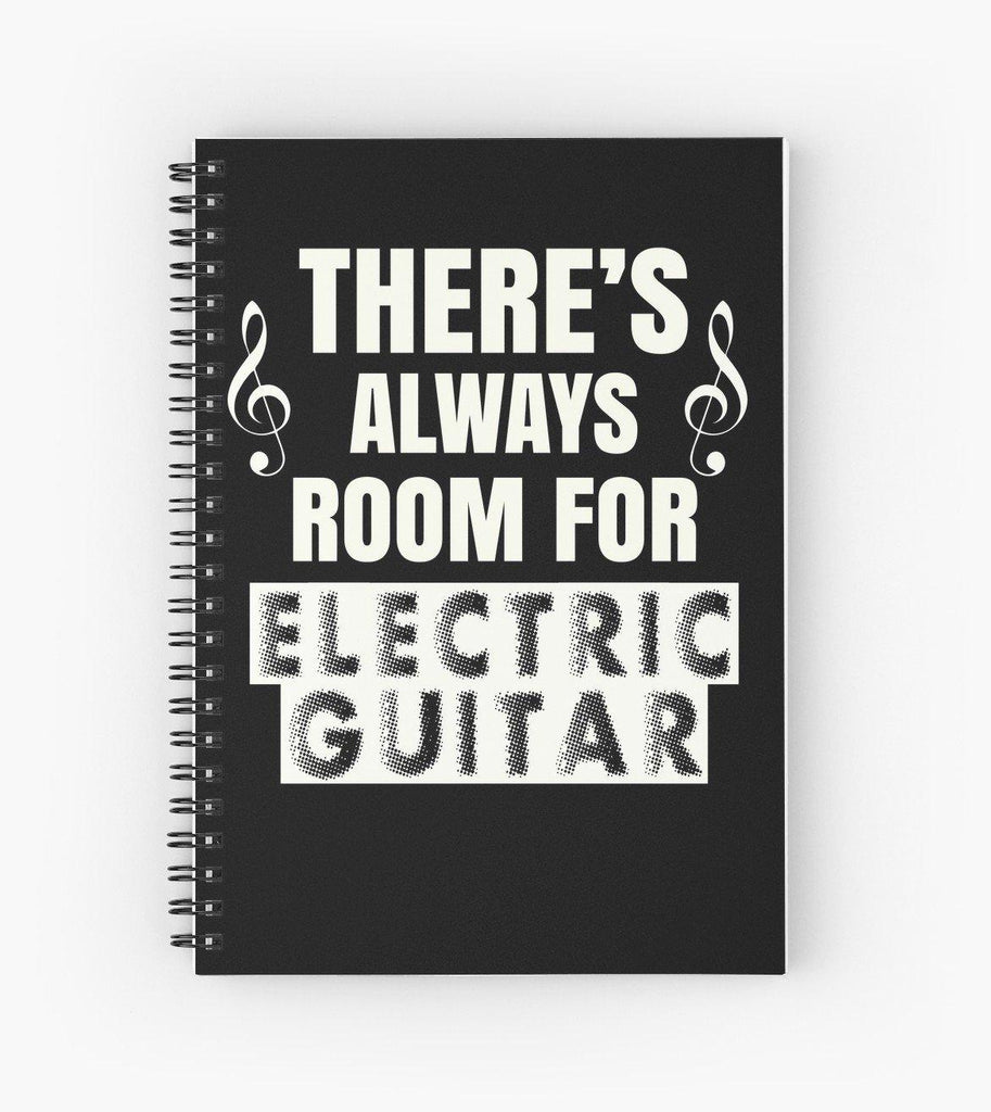 Electric Guitar Room Spiral Notebook