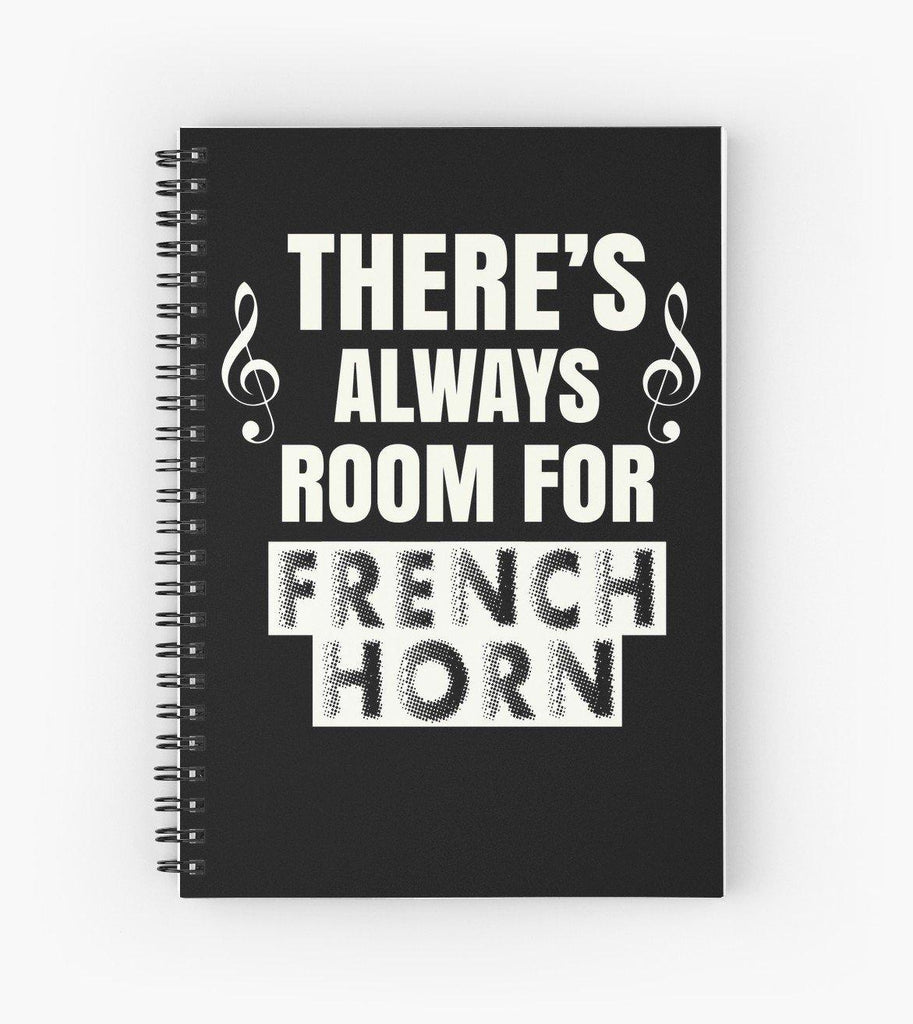 French Horn Room Spiral Notebook