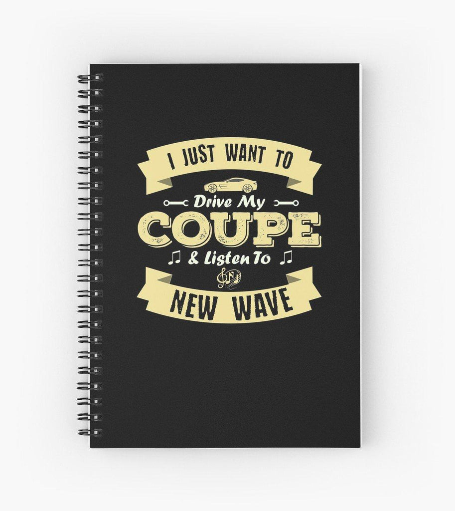 Coupe New Wave Spiral Notebook