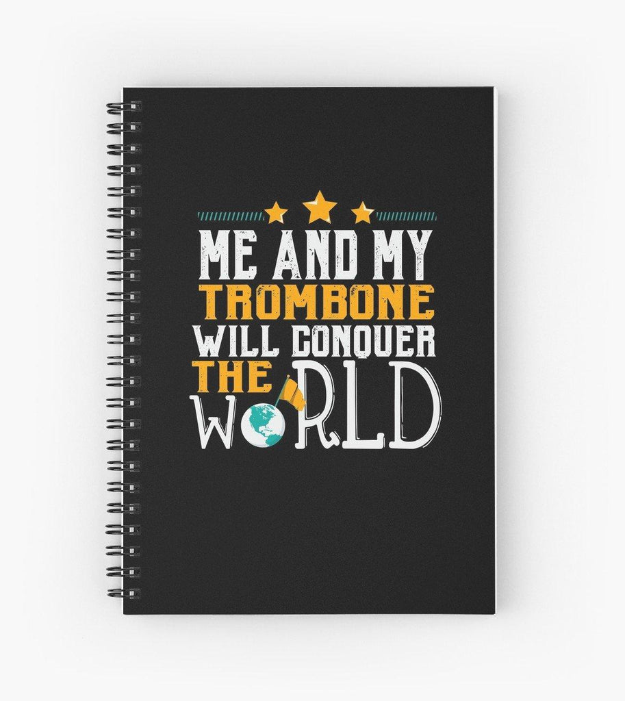 Trombone World Spiral Notebook