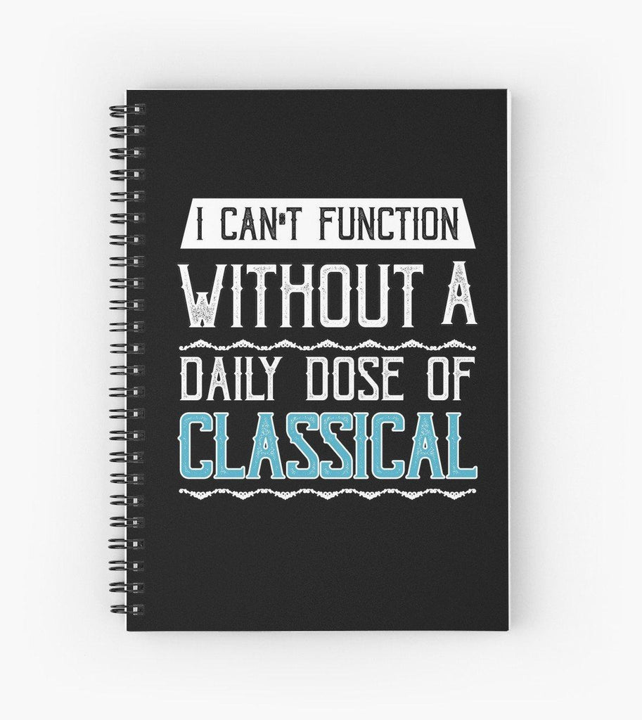 Classical Spiral Notebook