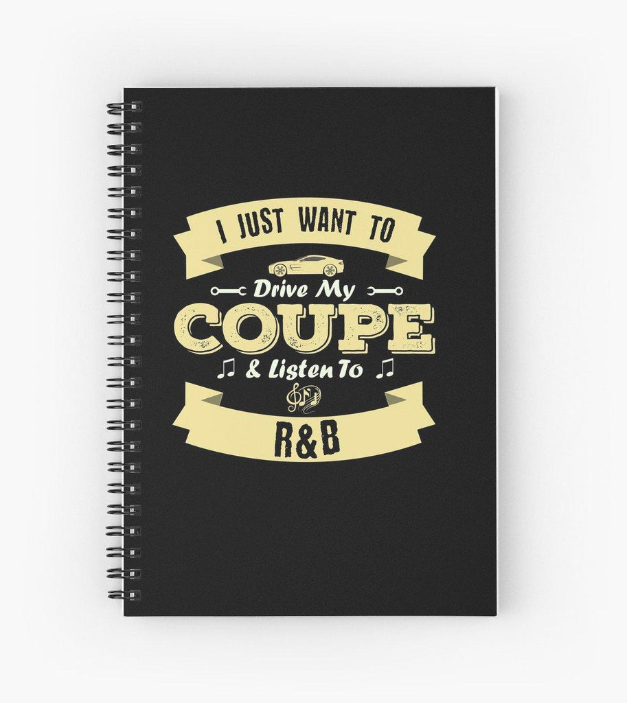 Coupe R&B Spiral Notebook