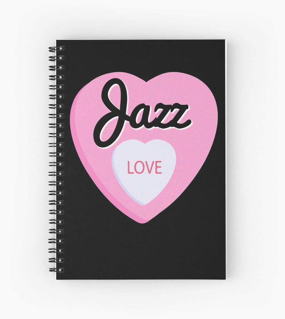 Jazz Love Spiral Notebook