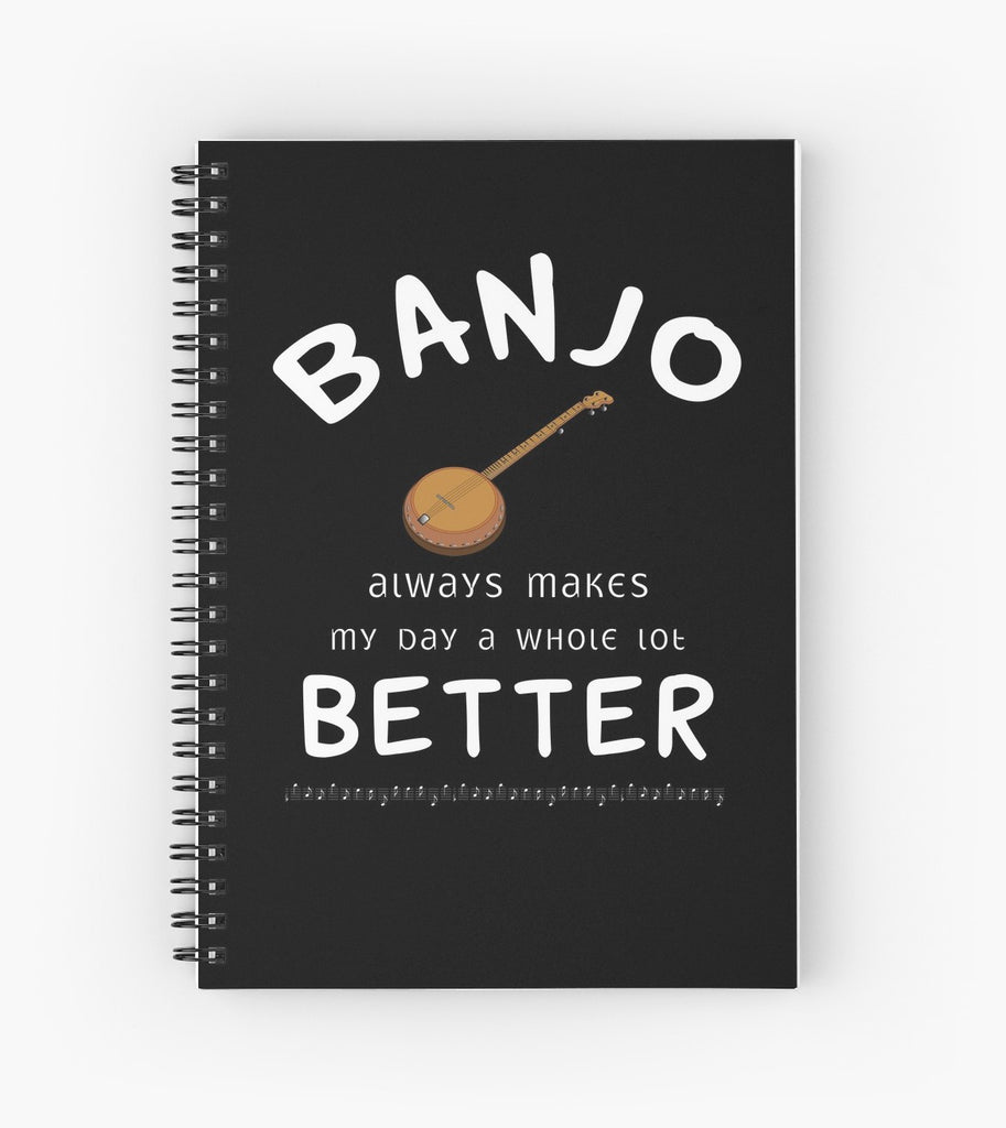 Banjo Better Spiral Notebook